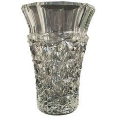 "Baccarat ""Celimene"" Crystal Vase"