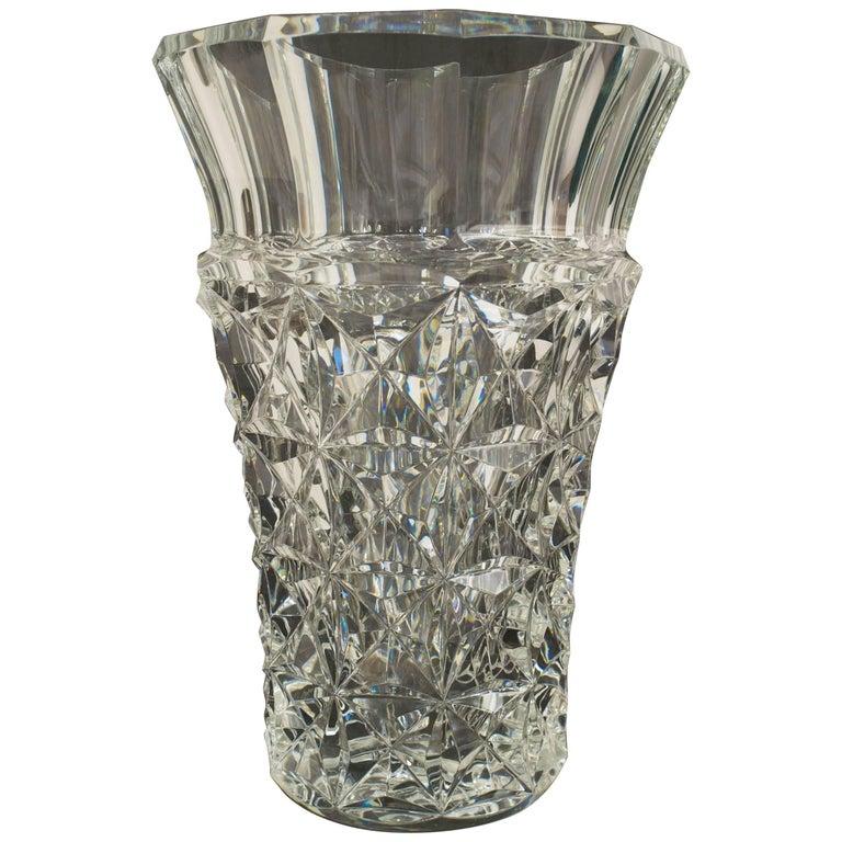 """Baccarat """"Celimene"""" Crystal Vase For Sale"""