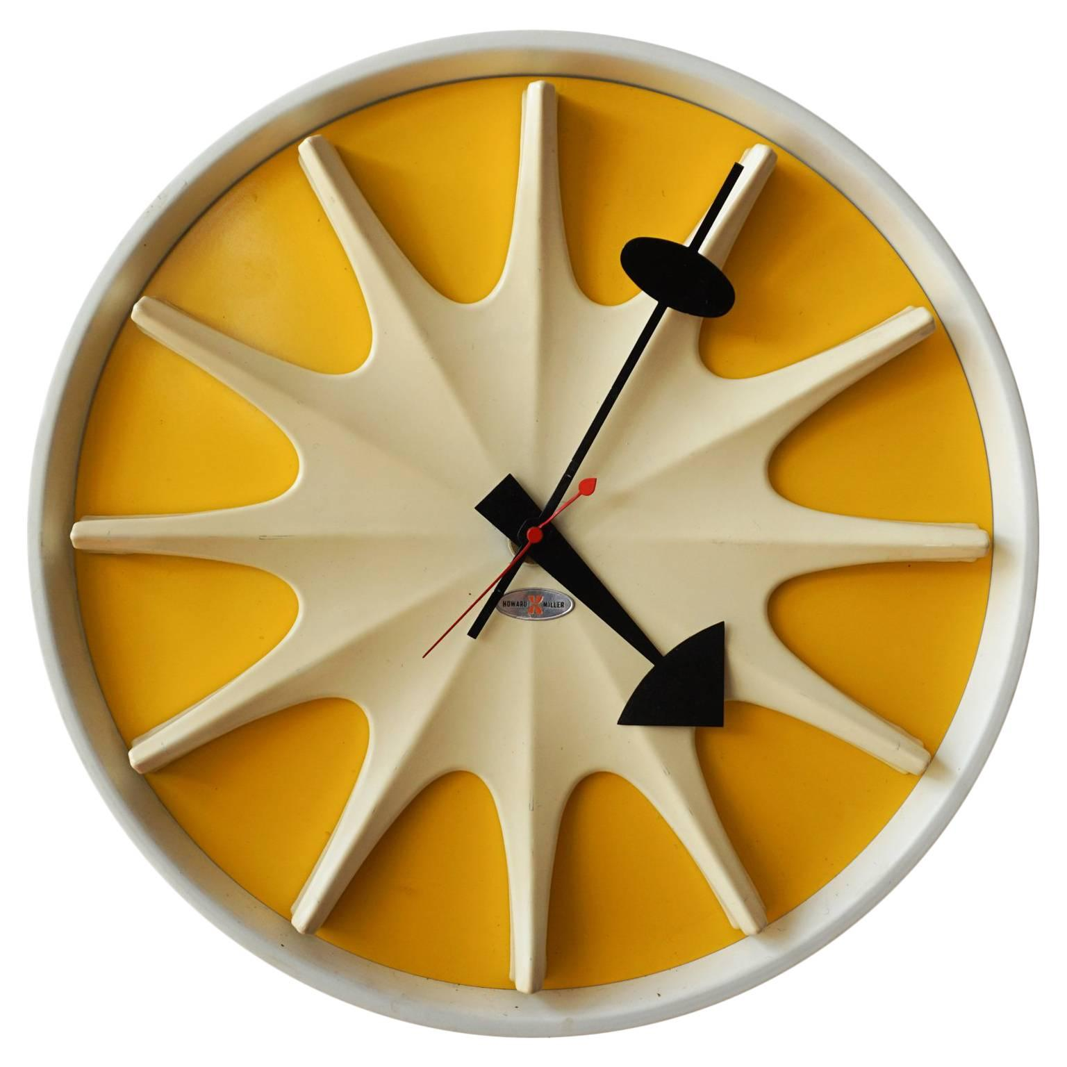 Irving Harper for George Nelson Wall Clock, 1959 at 1stdibs
