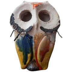 Italian Ceramic Owl by Gli Etruschi, 1960s