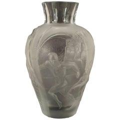 "French Midcentury ""Les Eleens"" Monumental Vase"