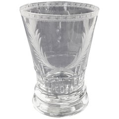 "William Yeoward ""Adriana"" Collection Hand-Cut and Etched Tumbler"