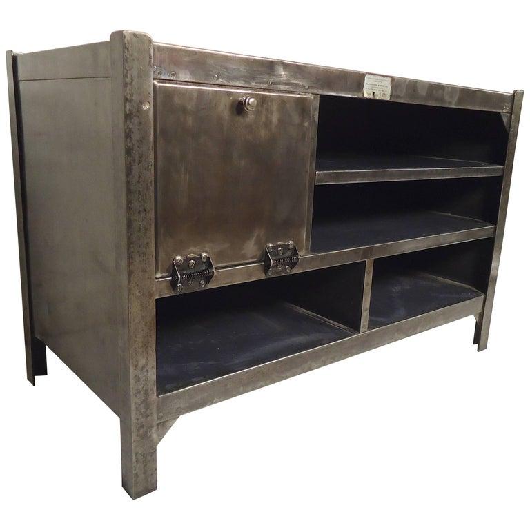 Industrial Metal Workstation For Sale