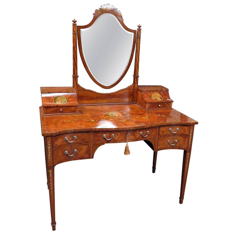 Adams Style Vanity with Mirror
