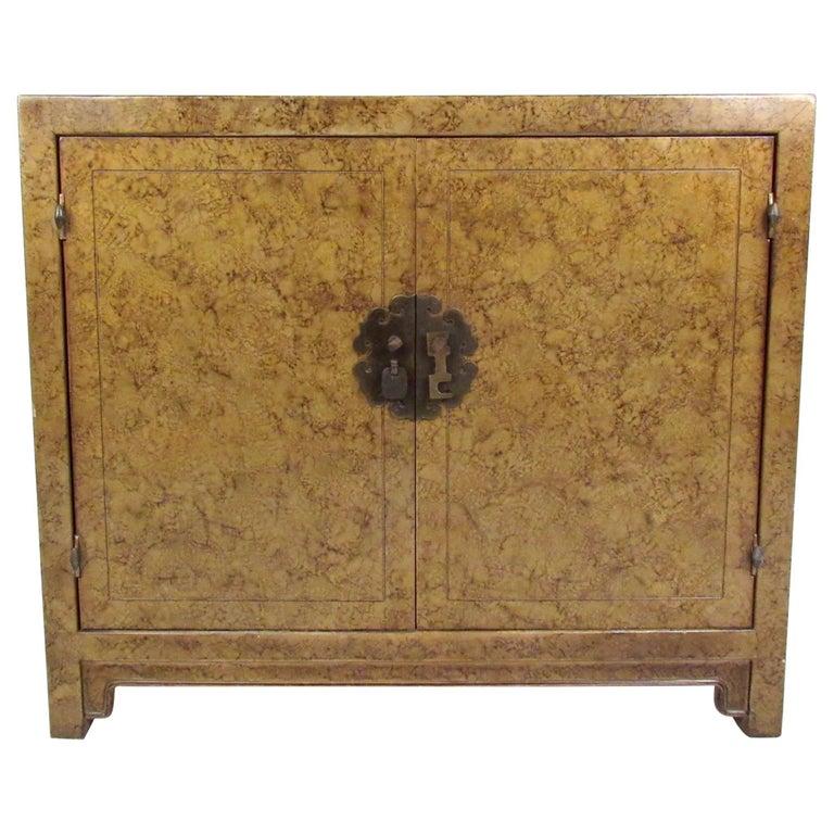 Hollywood Regency Cabinet by Henredon