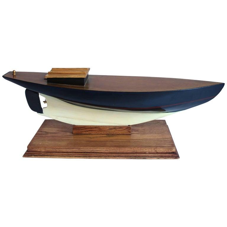 Wood Sailboat Hull