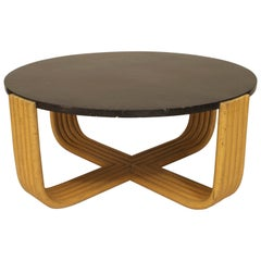 American Art Moderne 1930s Coffee Table