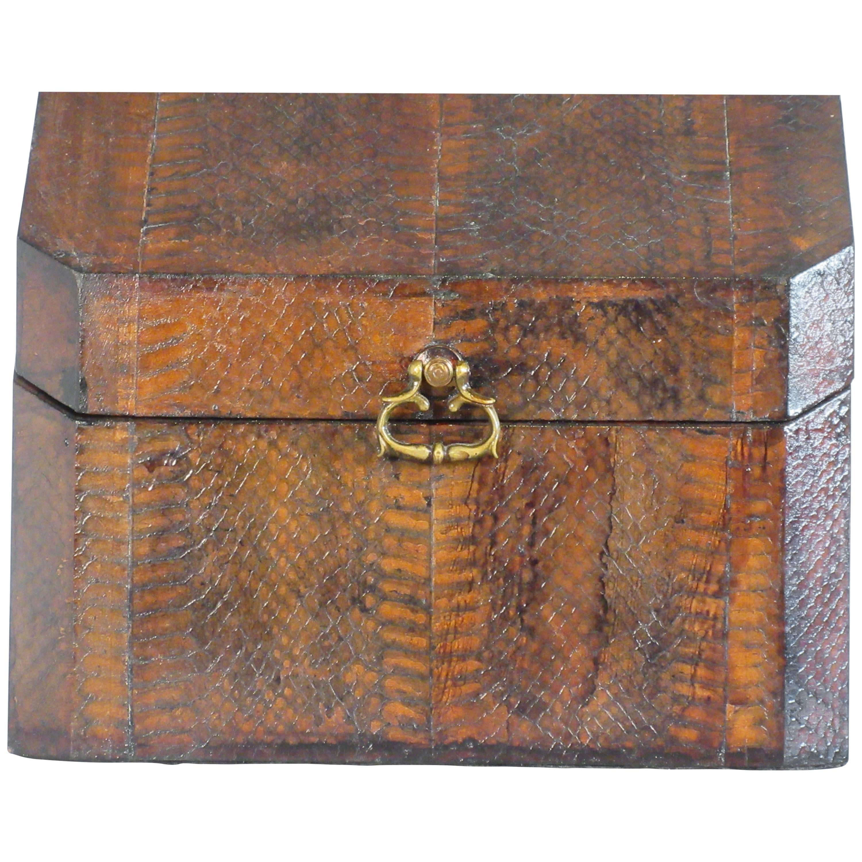 1960s Snakeskin Box