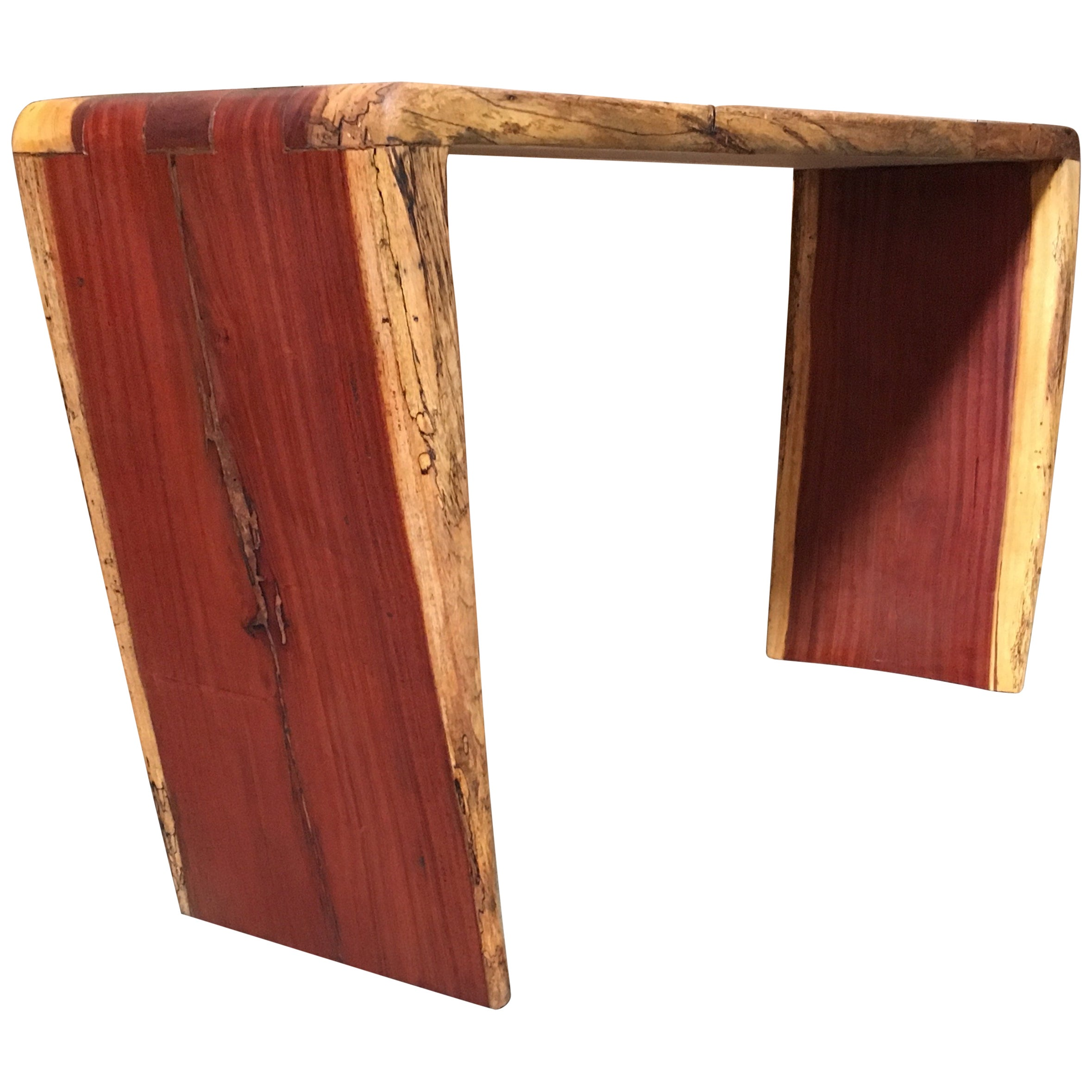 Modernist Rustic Console Table by Tunico T.