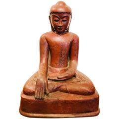 Buddha Red Burmese