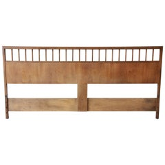 Milo Baughman for Arch Gordon Mid-Century Modern King-Size Headboard