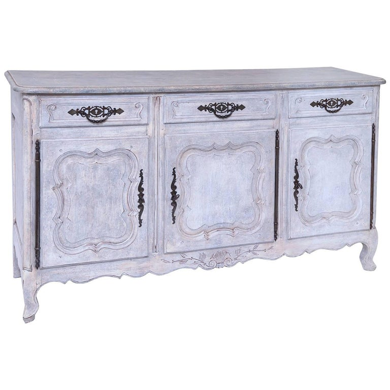 Painted Louis XV French Enfilade, 19th Century