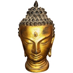 Buddha Head Gold