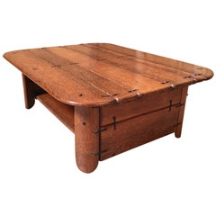 Rustic Modernist Coffee Table by Pacific Green