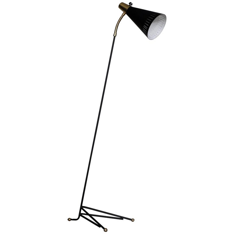 Swedish Floor Lamp, 1950s