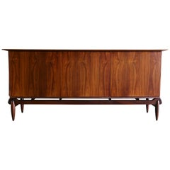 Rare Rosewood Credenza by Greta Grossman for Glenn of California
