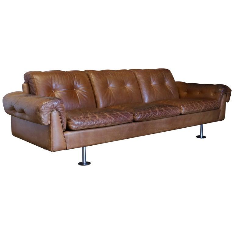 Sofa by Illum Wikkelsø for Ryesberg Møbler
