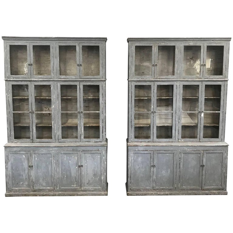 Outstanding Pair of Spanish 19th Century Bookcases