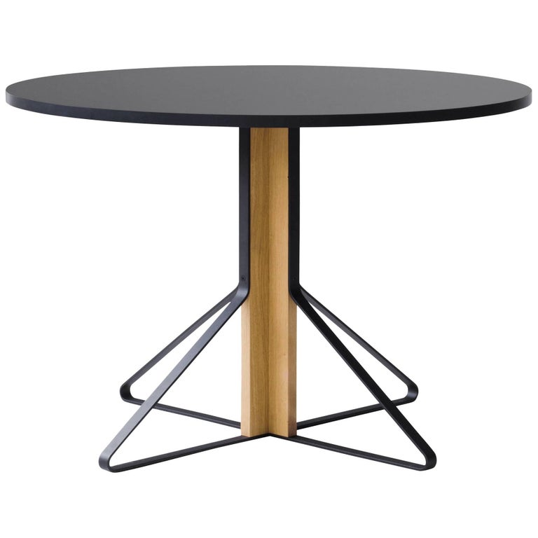 Authentic Kaari REB 004 Round Table by Ronan & Erwan Bouroullec & Artek For Sale
