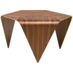 Authentic Trienna Table with Walnut Veneer by Ilmari Tapiovaara & Artek