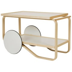 Authentic Tea Trolley 901 in Birch by Alvar Aalto & Artek