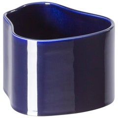 Authentic Riihitie Plant Pot A in Blue by Aino Aalto & Artek, Small