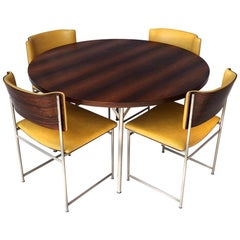 Very Rare Mid-Century Modern Rosewood Dining Set by Cees Braakman for Pastoe