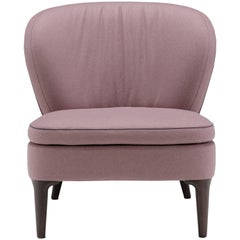Hermione Chair in Mauve by Emanuel Gargano