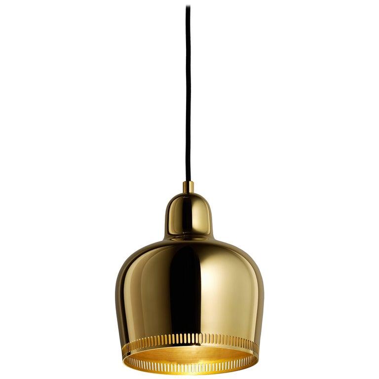 Alvar Aalto for Artek Golden Bell Savoy pendant light, 21st century, offered by Artek