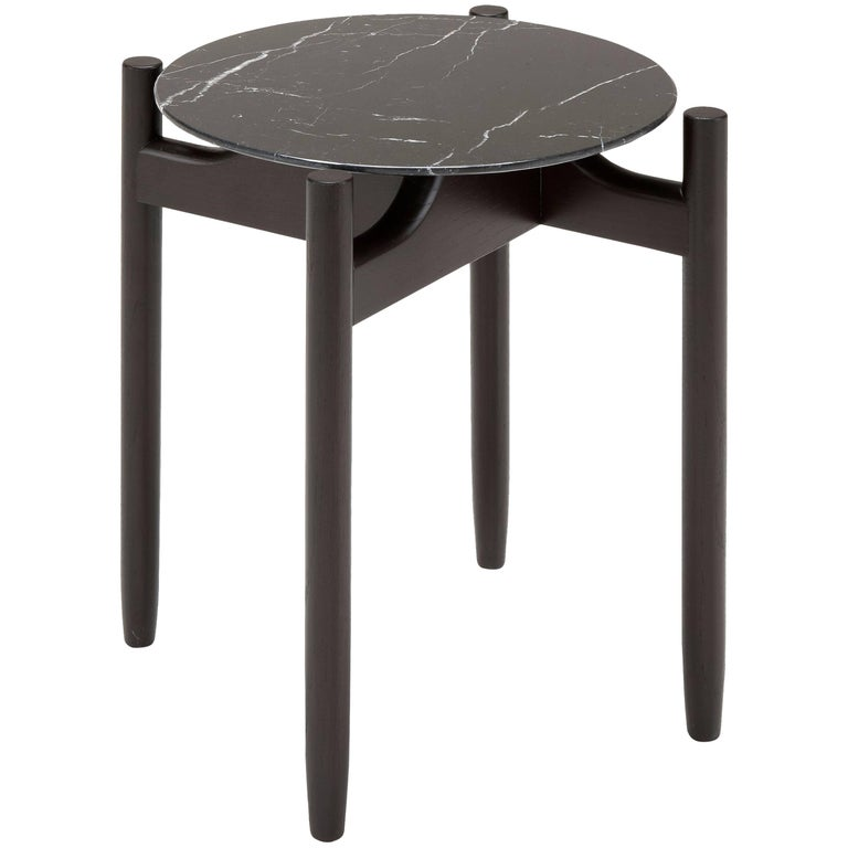 Juli Round Side Table by Maurizio Marconato & Terry Zappa For Sale