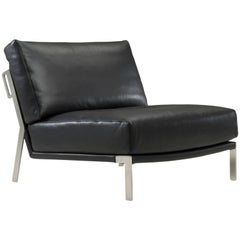 Link Armchair in Black by Maurizio Marconato & Terry Zappa