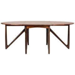 Rosewood Dining Table by Kurt Østervig
