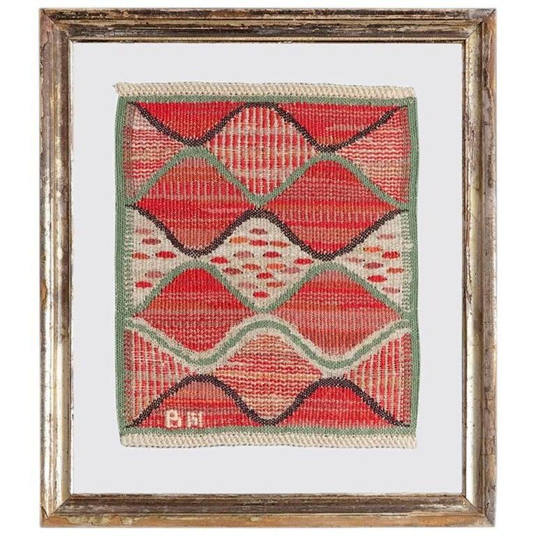 Vintage Märta Måås-Fjetterström Wall Tapestry For Sale