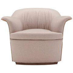 Mathilde Armchair in Taupe by Emanuel Gargano
