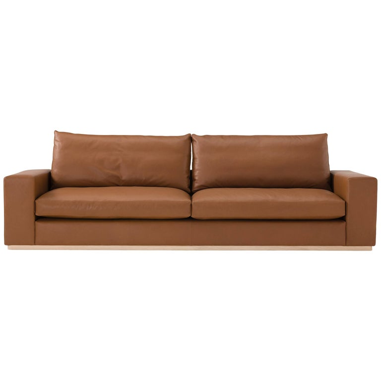 Murray Sofa in Rich Brown by Amura Lab