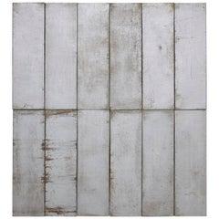 Ramon Horts Contemporary Metal Minimalism Large Artwork 2/6 N 001