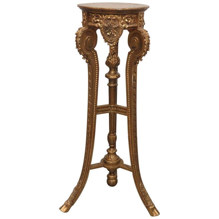 Hollywood Regency Style Pedestal