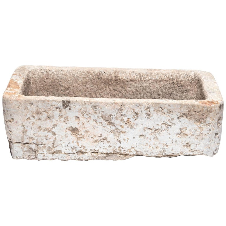 Early 20th Century Chinese Stone Trough For Sale