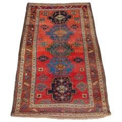 Antique Kurd Bidjar Rug