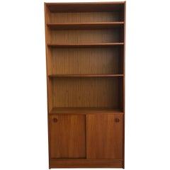 Poul Hundevad Danish Teak Midcentury Bookcase