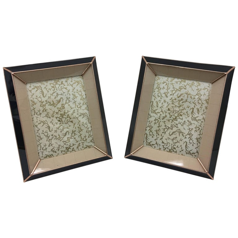 Two Copper Picture Frames, circa 1909s For Sale at 1stdibs