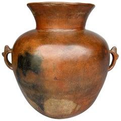 Antique Ceramic Florero Pot