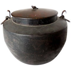 Antique Japanese Pot