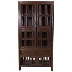 19th Century Chinese Two-Door Display Cabinet