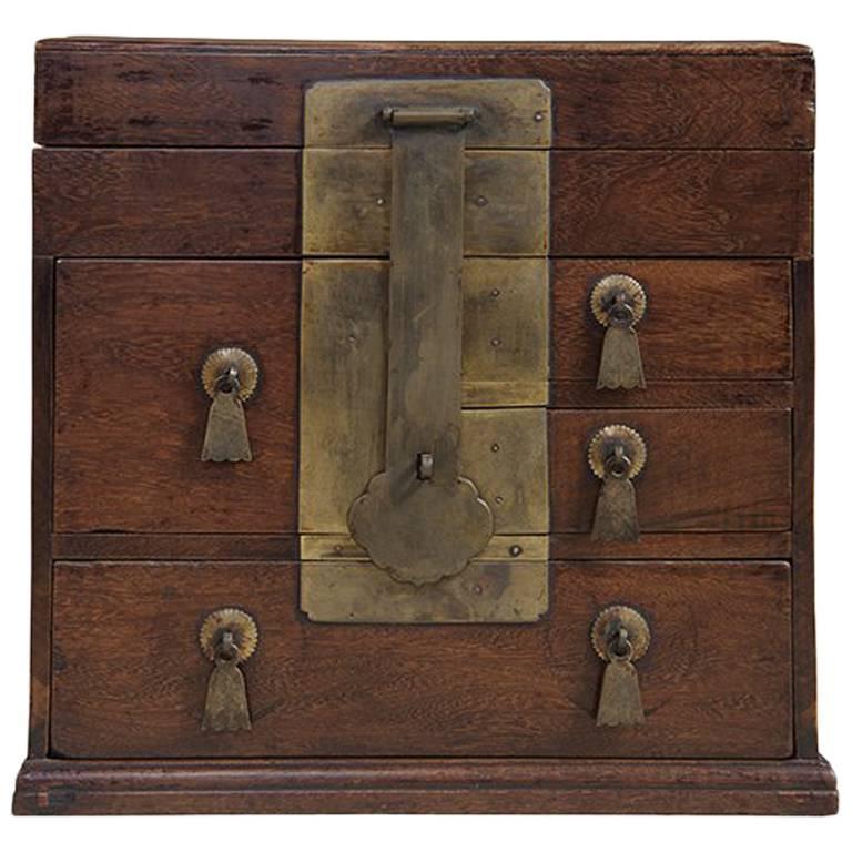 Early 18th Century Chinese Jichimu Seal Box