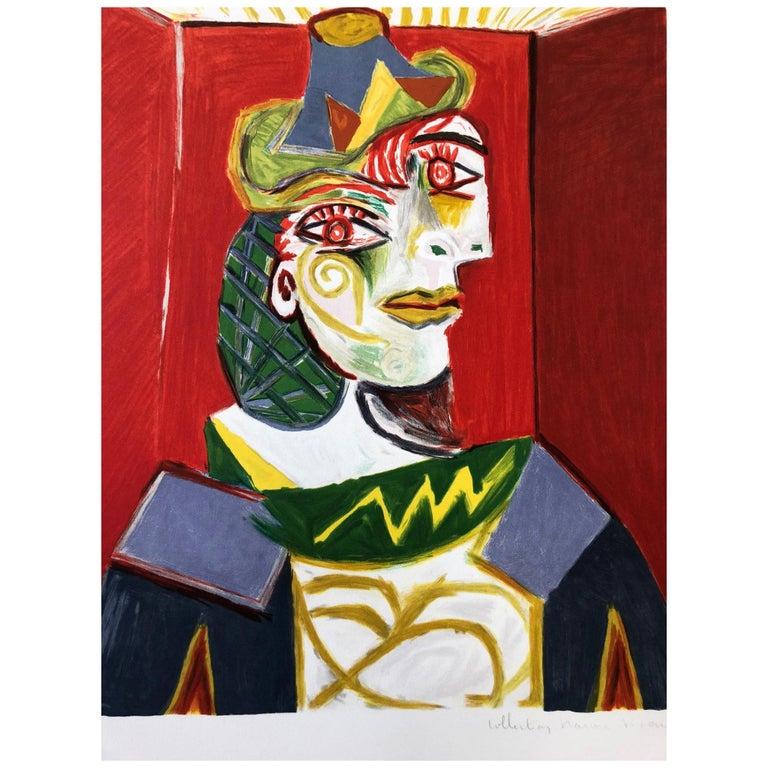 """""""Buste de Femme"""" Lithograph by Pablo Picasso"""