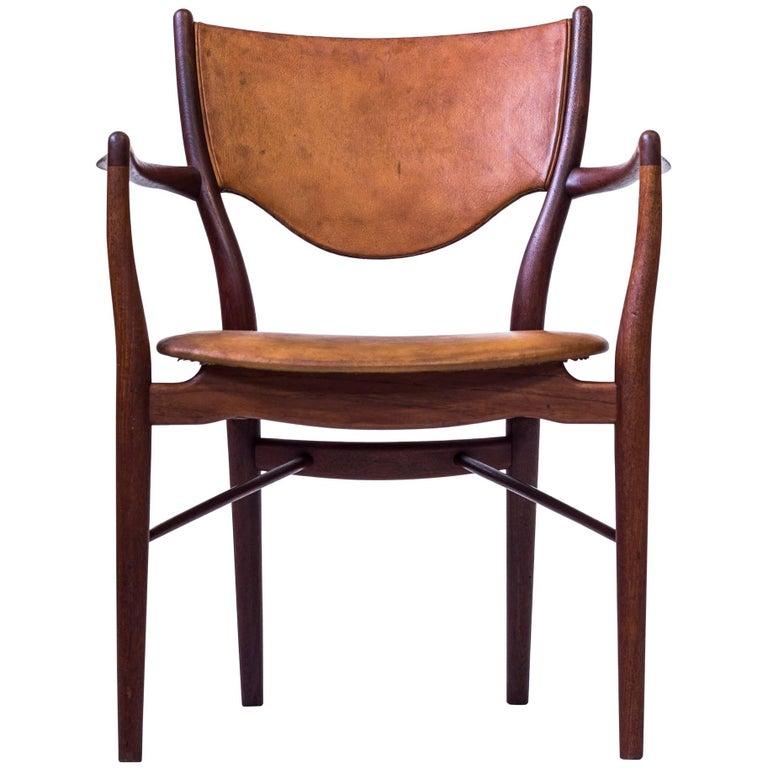 BO-72 arm chair by Finn Juhl, Denmark, 1950s