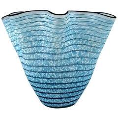 Kosta Boda, Ulrica H. Vallien Art Glass Vase Swedish Design