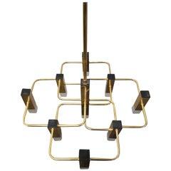 Brass Sciolari Nine Point Lamp