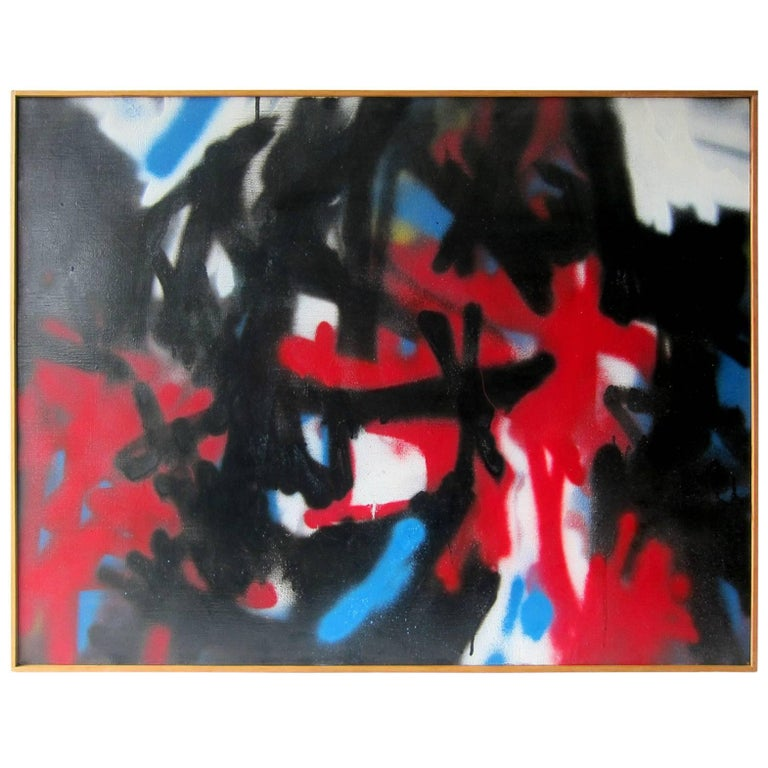 Stevan Kissel Abstract Modernist Painting